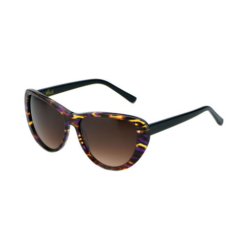 24-7 Classic Cateye Frame Sunglasses - AMETHYST - (Limited Edition: only 3 left) - product images  of