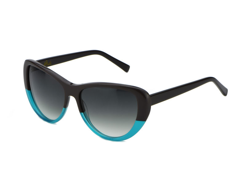 Aquamarine Cateye Frame Sunglasses (Limited Edition) - product images  of