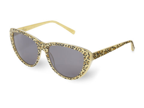 Leopard,Print,Cateye,Frame,Sunglasses,Leopard Cateye Sunglasses, Heidi London