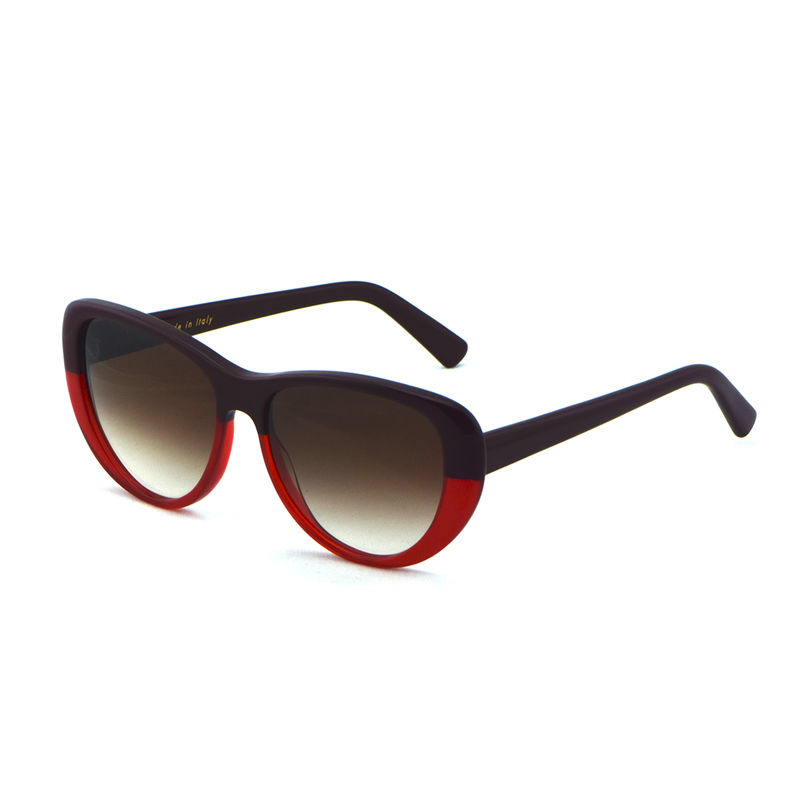 Bordeaux Red Classic Cateye Sunnies - product images  of