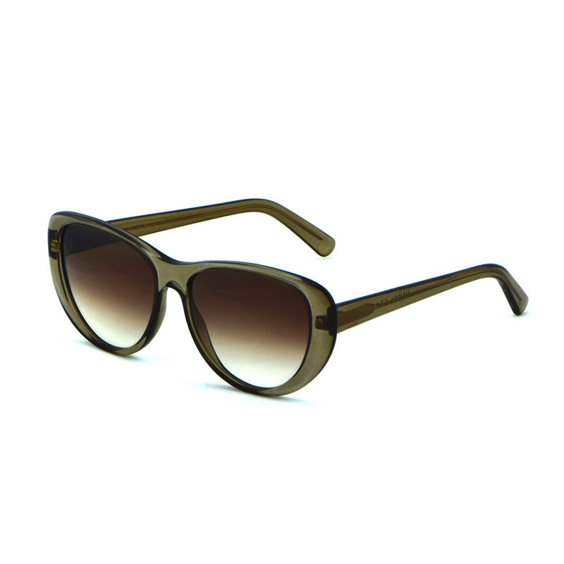 Olive Brown Cateye Frame Sunglasses  - product images  of