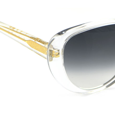 Crystal Cateye Frame Sunglasses - product images  of