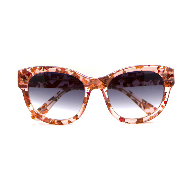 Rose Petal Square Frame Sunglasses - product images  of