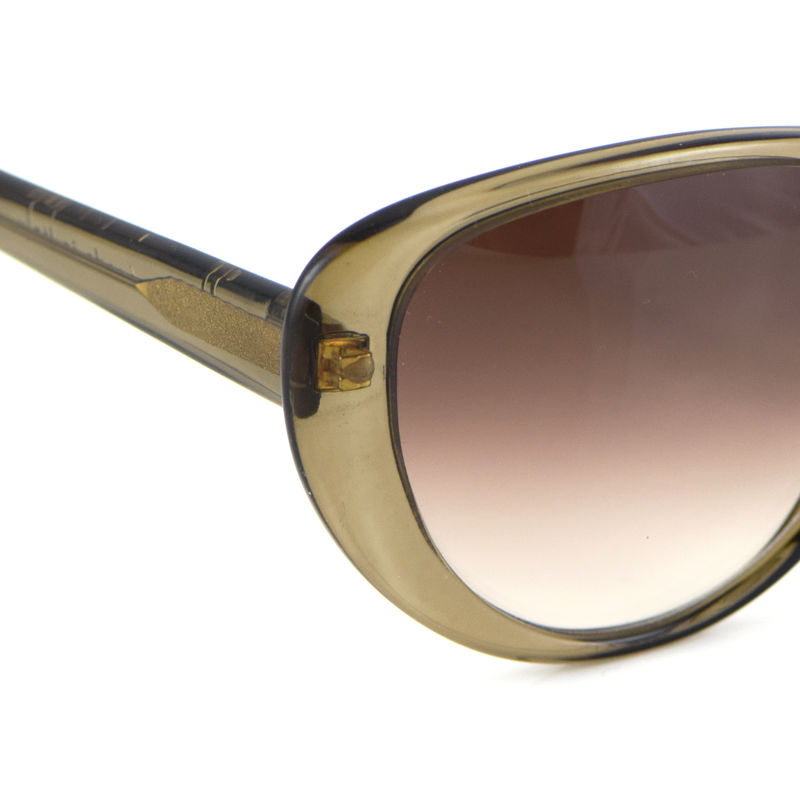 Olive Brown Cateye Frame Sunglasses (1 left) - product images  of