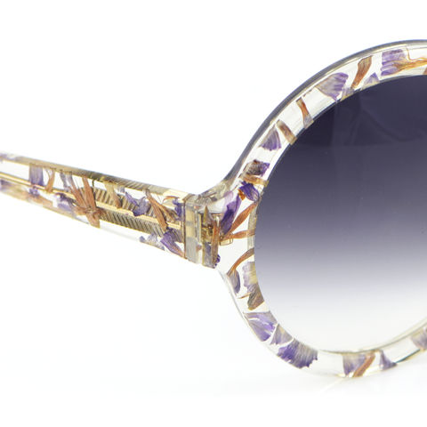 Forget-me-not Circular Frame Sunglasses - product images  of