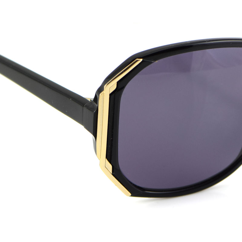 Gold Decor Hexagon Frame Sunglasses (limited stock) - product images  of