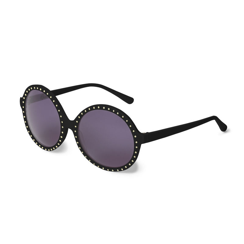 Studded Circular Frame Sunglasses - product images  of