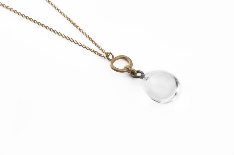Rock Crystal Drop Pendant - product image