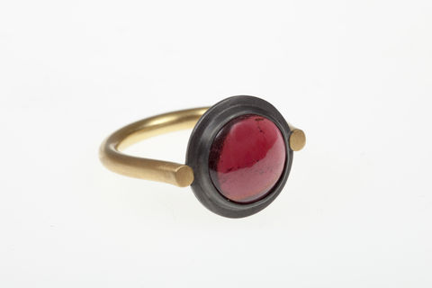 Garnet Spyglass Ring - product images  of