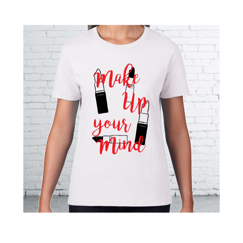 "The ""make up "" tee  - product images  of"