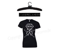 Diamond G tee  - product images 1 of 1
