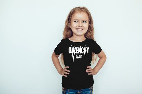 Kids,unisex,Givenchy,drip,tee,