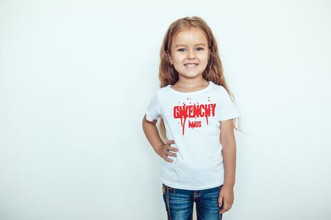 Kids,unisex,red,Givenchy,drip,