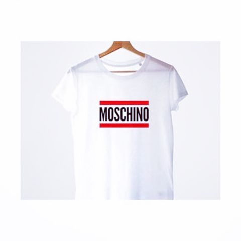 New,Moschino,stripe,tee
