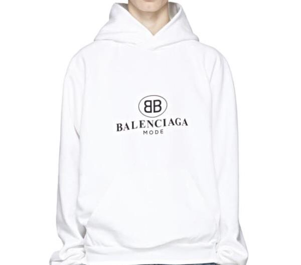 "The ""B.B"" mode hoodie  - product images  of"