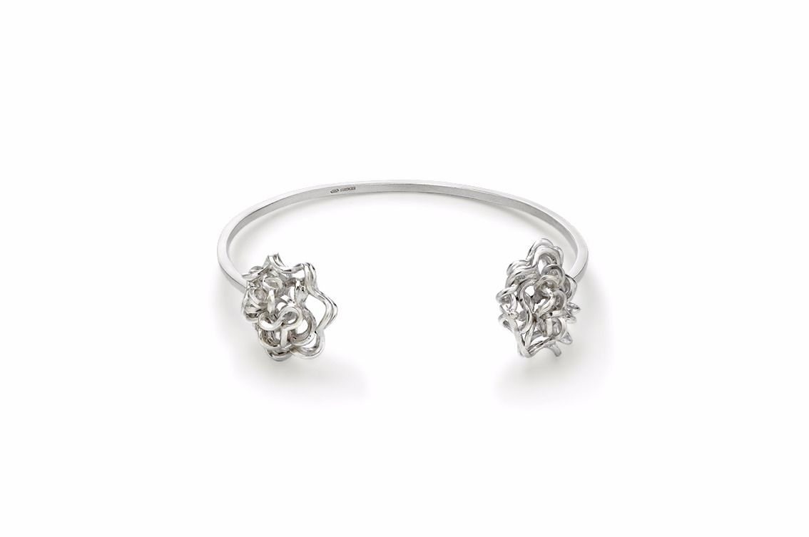 Handmade Foil Brunch Bangle - product image