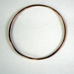 Rustic Bronze Bangle Free Shipping Made to Order - product images 2 of 5