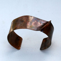 Copper,Cuff,-,Ridge,copper, cuff, handmade, foldformed, unisex, men, women, teen, rustic, organic, earthy, brown