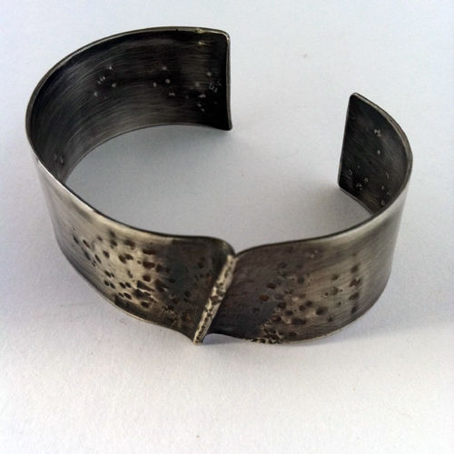 Sterling Silver Cuff - Ridge - product images  of