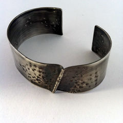 Sterling Silver Cuff - Ridge - product images 2 of 3