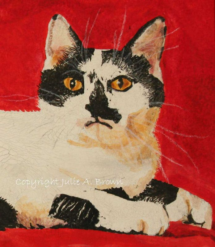Your Highness Cat 8 x 10 Limited Edition Giclee Fine Art Print-Free Shipping - product images  of