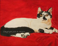 Your Highness Cat 8 x 10 Limited Edition Giclee Fine Art Print-Free Shipping - product images 3 of 3