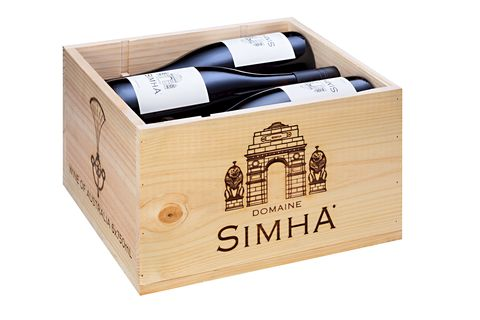 2017,DOMAINE,SIMHA,RAJA,PINOT,NOIR,Wine Domaine Simha RAJA Pinot Noir Tasmania Australia Nav Singh Louise Radman natural method naturel cellar door tastings tours