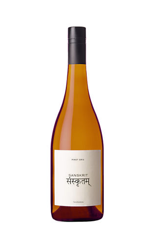 2018,SANSKRIT,Pinot,Gris,Wine Domaine Simha Sanskrit Pinot Gris white wine Tasmania Australia Nav Singh Louise Radman natural method natural naturel demi-john skins cellar door tastings tours