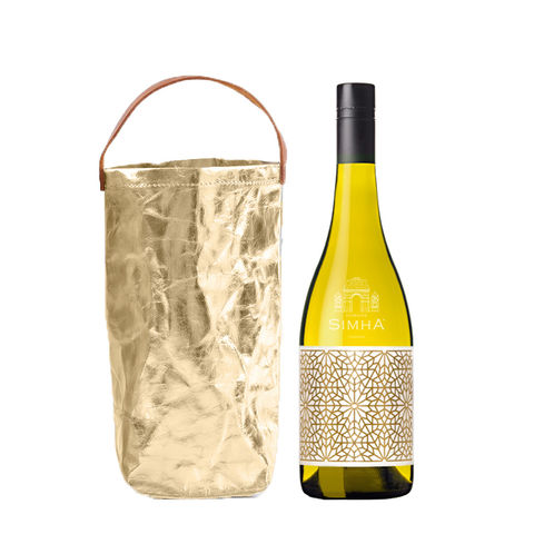 2017,LOTUS,AMPHORA,RIESLING,(gift,bag),Wine Domaine Simha Lotus Amphora clay egg ferment Tasmania Australia Nav Singh Louise Radman natural method naturel cellar door tastings tours