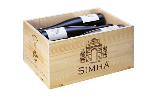2019,DOMAINE,SIMHA,RANI,RIESLING,Wine Domaine Simha Rani Riesling Tasmania Australia Nav Singh Louise Radman natural method naturel cellar door tastings tours
