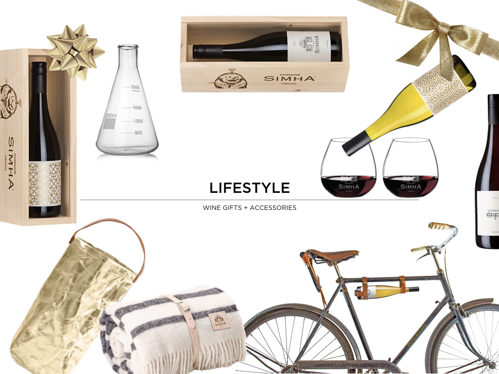 Domaine Simha Tasmania wine lifestyle gifts
