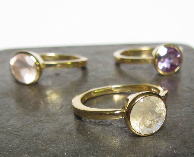Large Amethyst Cocktail Ring, 18ct gold by Catherine Marche - product images  of