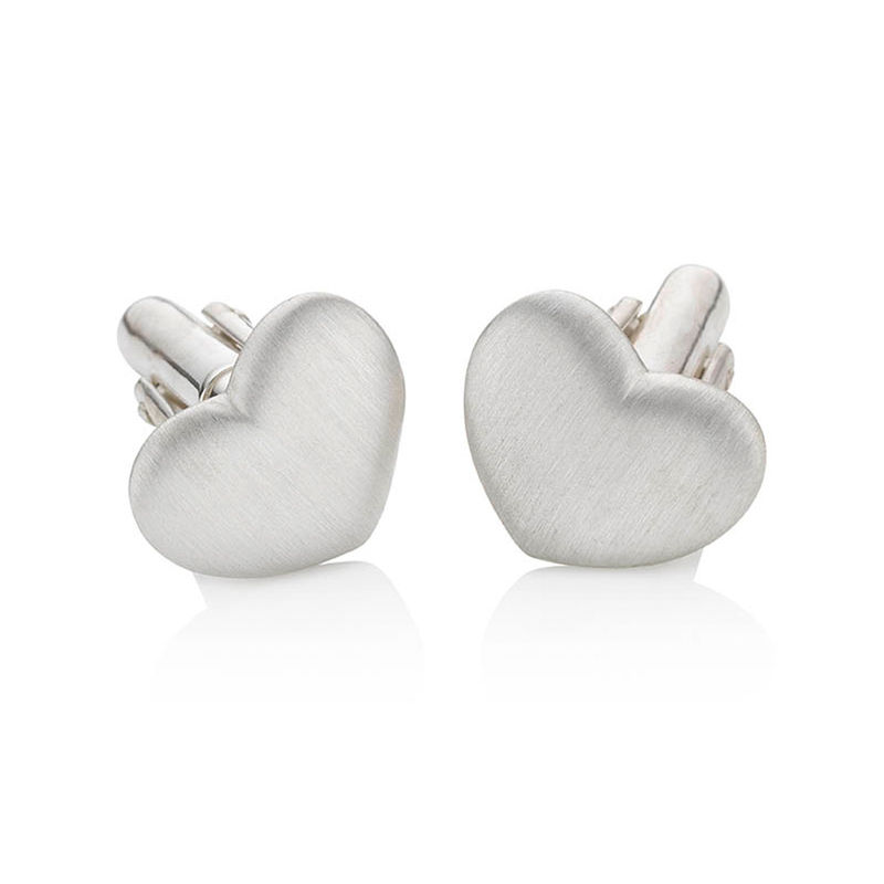 Heart cufflinks by KristinM - product images