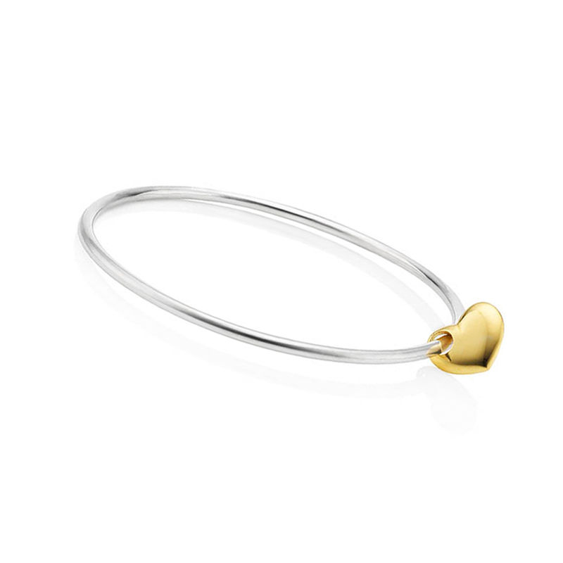 Gold Heart bangle by KristinM - product images