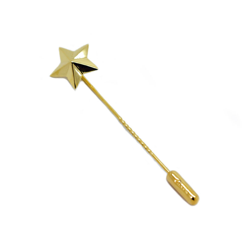 Star lapel pin gold by KristinM - product images