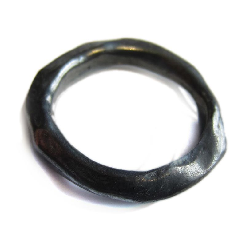 Oxidised Sterling Silver Organic Ring by Catherine Marche - product images  of