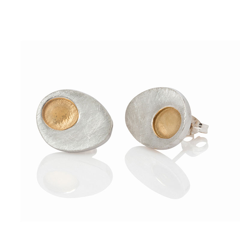 Gold Dot studs by Danny Ries - product images