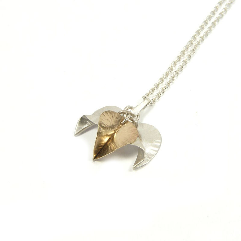Tiny Leaves pendant by nbbyNg - product images