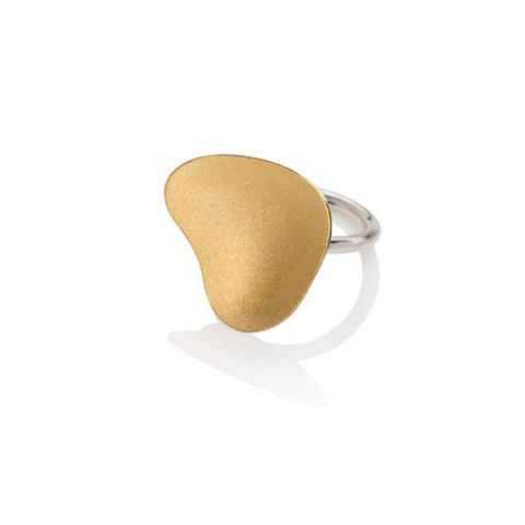 Weathered,Shapes,ring,gold,2,by,Juliet,Strong,Juliet Strong, pebble ring gold