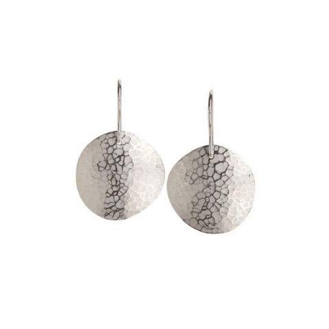 Weathered,Shapes,earrings,1,by,Juliet,Strong,Juliet Strong, geometric silver earrings, pebble earrings silver