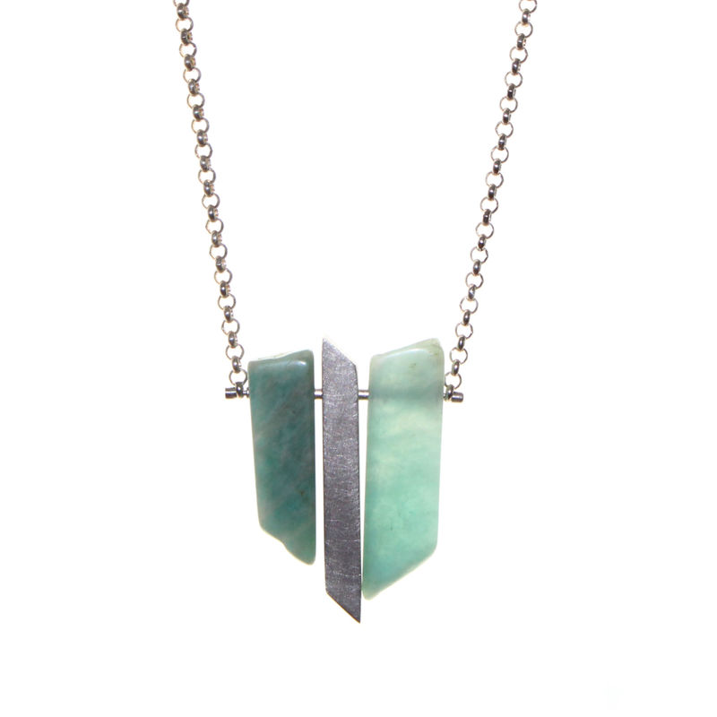 Amazonite Shards 2 by Rosemary Lucas - product images