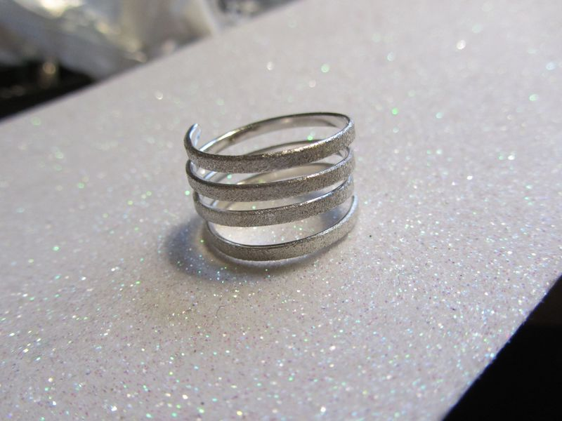 Sterling Silver Twist Ring by Catherine Marche - product images  of