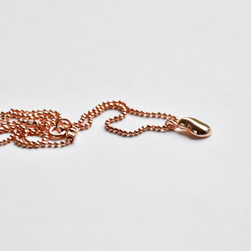 Silhouette pendant rose gold by Katerina Damilos - product images  of