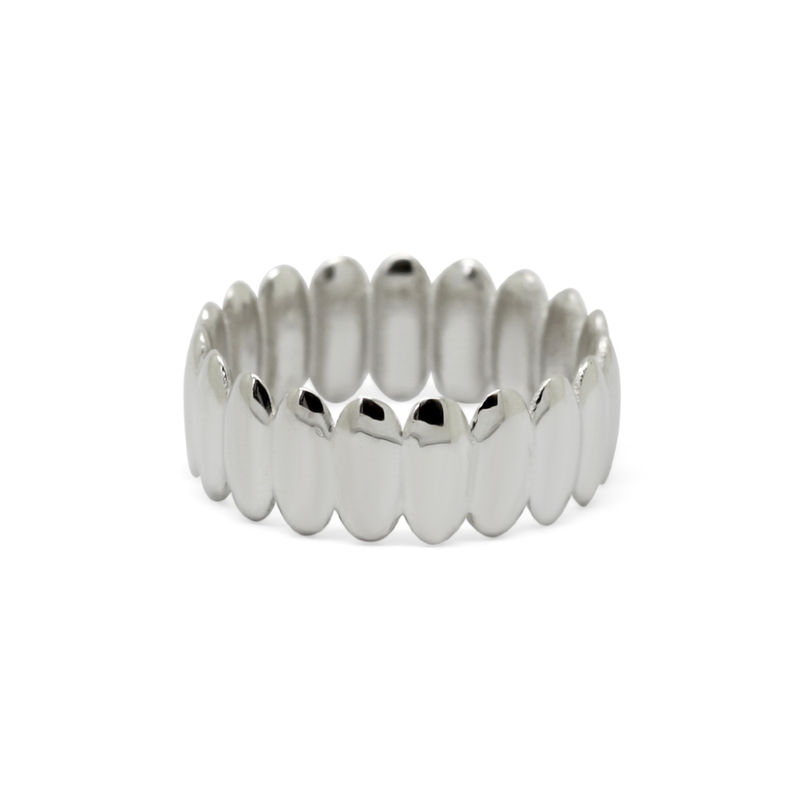 Surf ring wide silver by KristinM - product images