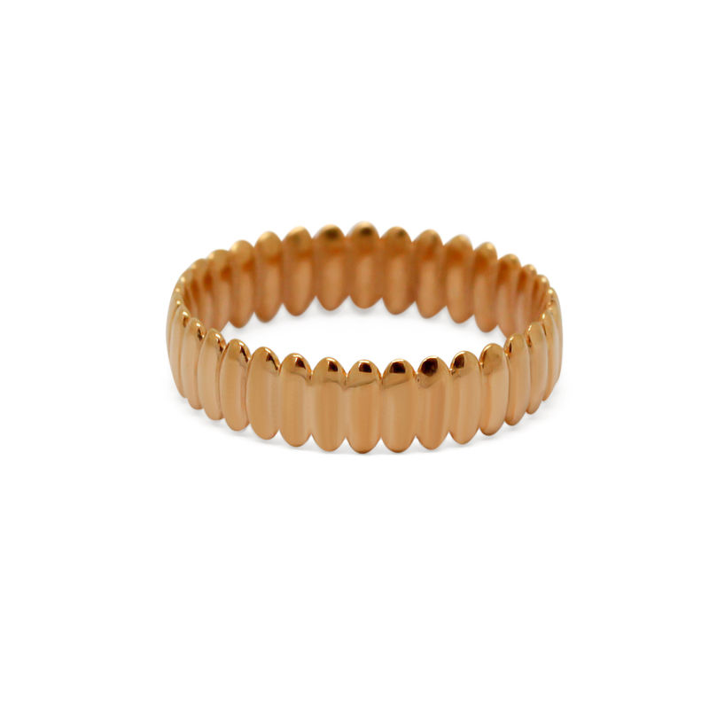 Surf ring narrow rose gold by KristinM - product images