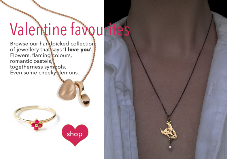 Love Jewellery gifts for Valentine's Day