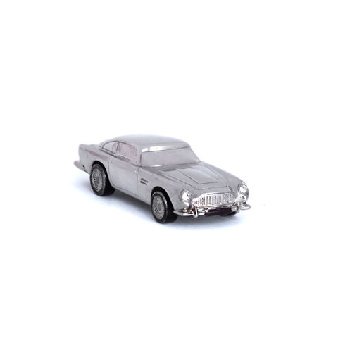 Aston,Martin,miniature,toy,car,by,LaParra,Jewels,white gold Aston Martin DB5 miniature