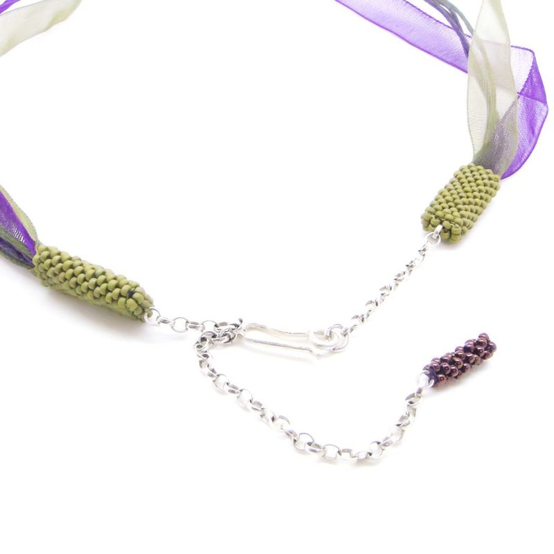Ribbon Seaweed necklace by Dani Crompton - product images  of