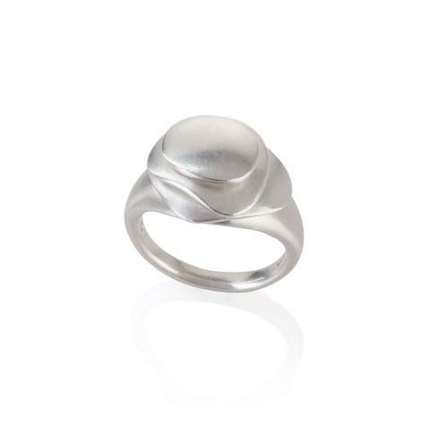 Eternity,ring,small,silver,by,Juliet,Strong,Juliet Strong, kinetic pebble ring silver