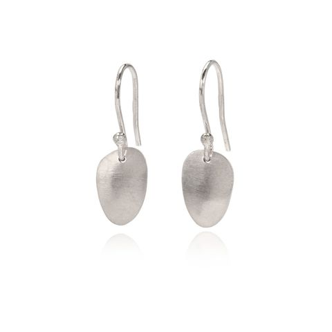 Eternity,seed,earrings,silver,by,Juliet,Strong,Juliet Strong, pod earrings silver, organic jewellery